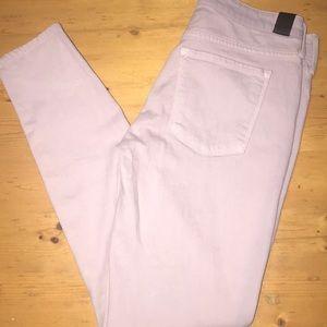 Vince Jeans 27 Light Purple NWT